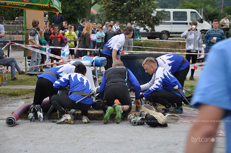 Hasičská súťaž Hliník