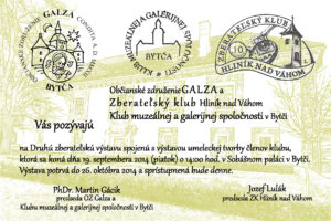 Inaugurácia príležitostnej poštovej známky SOBÁŠNY PALÁC V BYTČI
